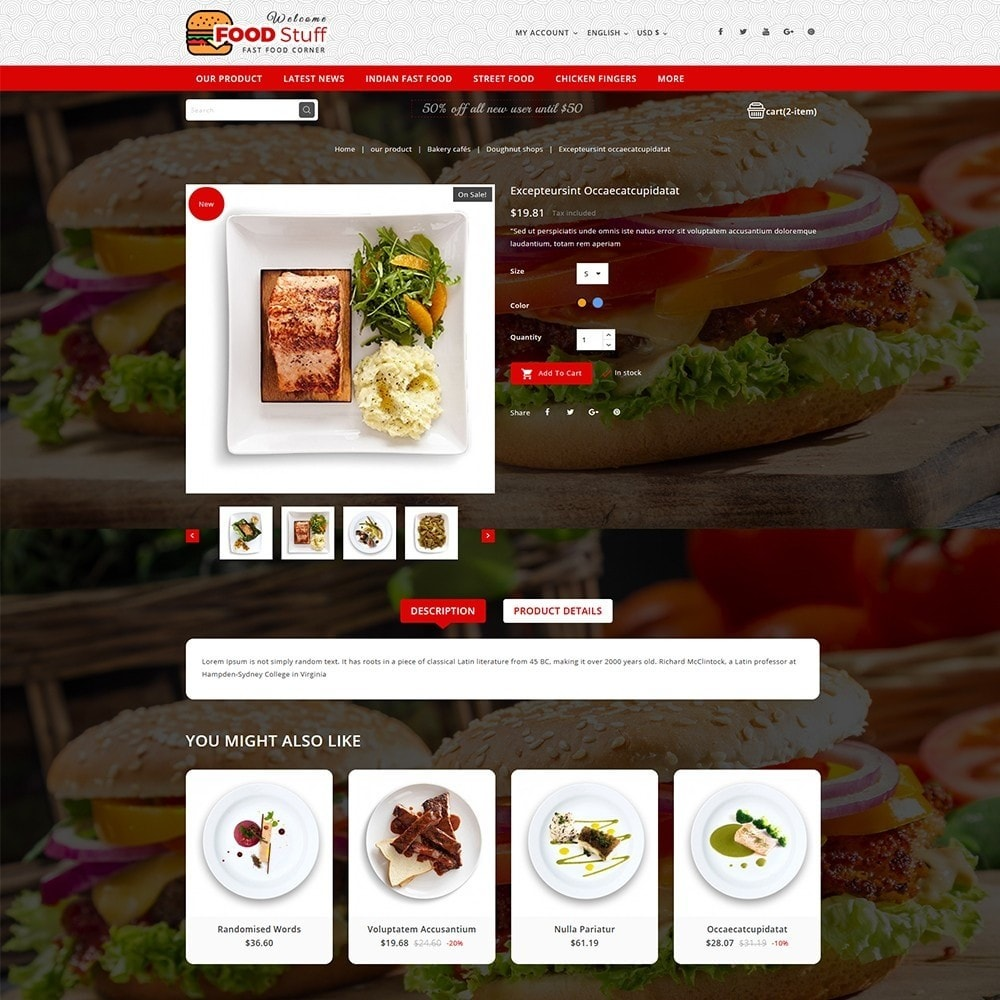 theme - Lebensmittel & Restaurants - Foodstuff Restaurant - 6