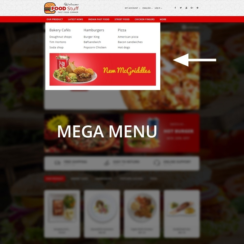 theme - Lebensmittel & Restaurants - Foodstuff Restaurant - 9