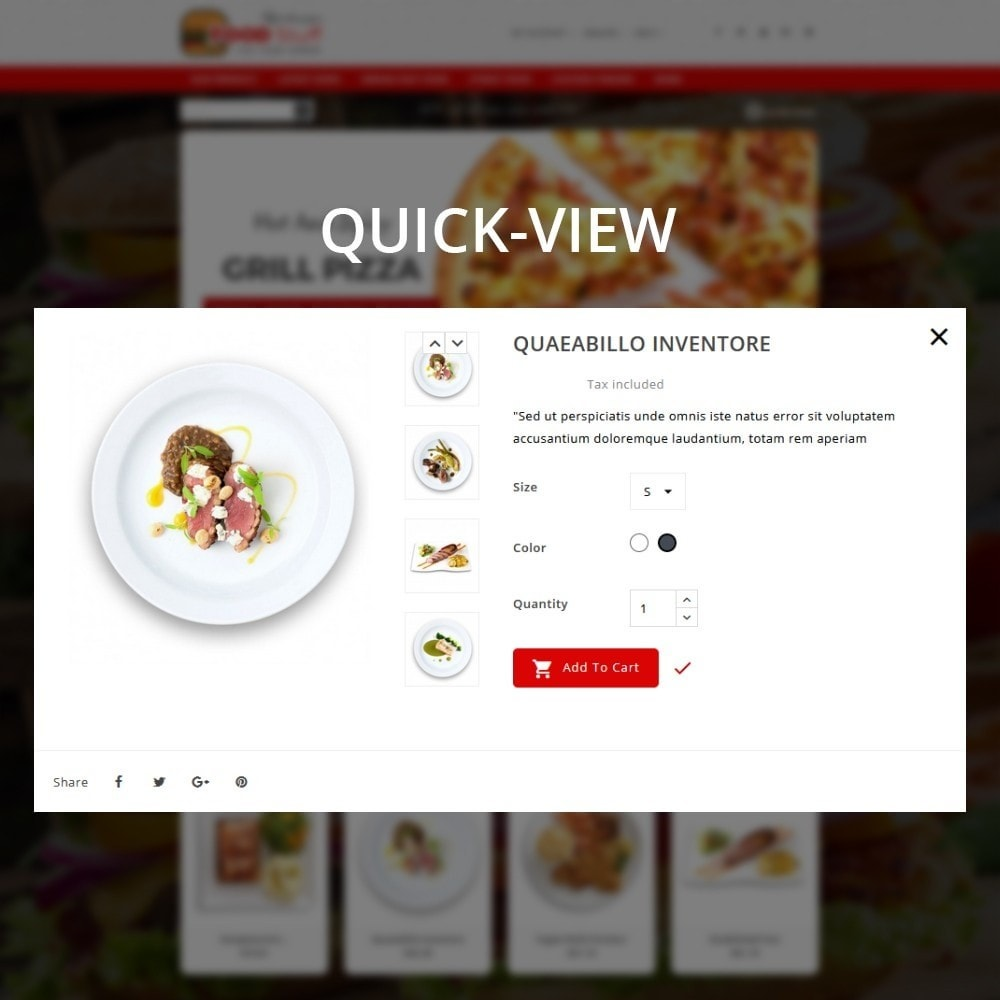 theme - Lebensmittel & Restaurants - Foodstuff Restaurant - 13