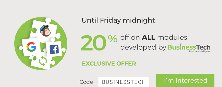 Exclusive offer: -20% Until Friday midnight