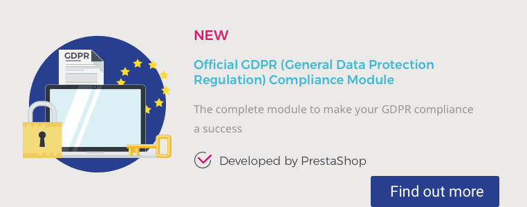Make sure you are fully GDPR-compliant